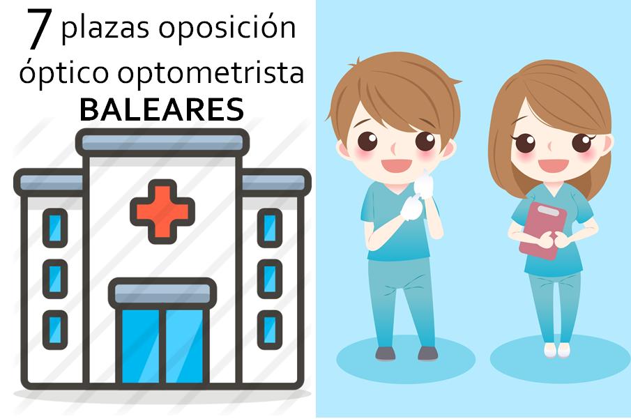 plaza-oposicion-optico-optometrista-salud-publica-baleares