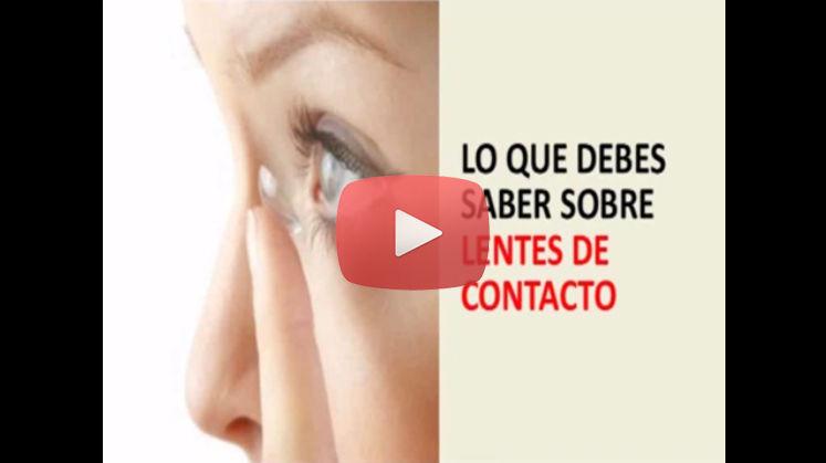Vídeo de la Campaña Lentes de Contacto de la Asociación Española de Optometristas Unidos